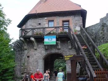 Visegrad kale girişi