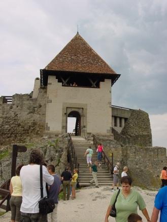 Visegrad kalesi kulelerinden birisi