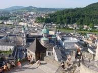 Yukarıdan Salzburg Kalesi