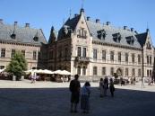 Prag Kalesi iç avlu