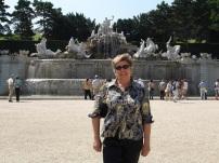 Schonbrunn bahçesinde