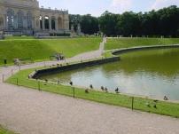 Schonbrunn' da gölet