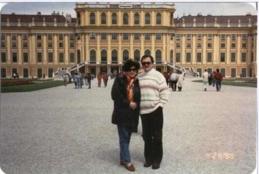 Schonbrunn sarayı, 1990