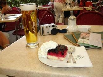 Schonbrunn'da kafe keyfi