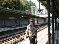 Schonnbrunn istasyonunda