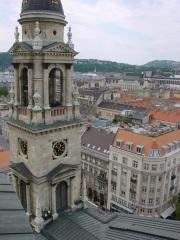 St.Istvan Kilisesi kulesinden