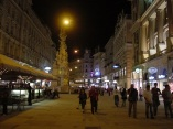 Viyana, Kaertner Strasse gece görüntüsü