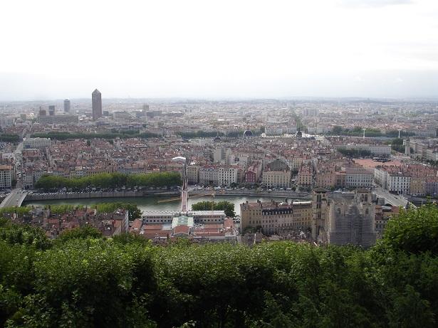 Bazilika' dan kent görüntüsü