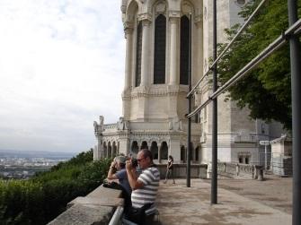 Bazilika terasından foto çekimi