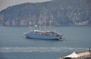 Körfezde yolcu gemisi