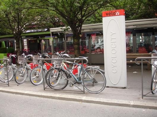 Lyon bisiklet sistemi