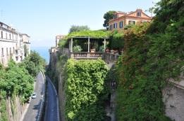 Piazza Tasso' dan görüntü