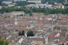 Tepeden şehir görüntüsü