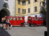 Bratislava' da gezi treni