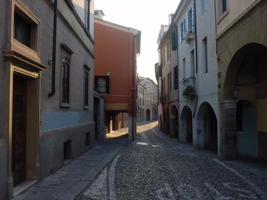 Padova sokakları