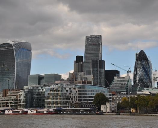 Londra' nın gökdelenleri