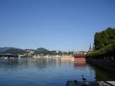 Göl manzarası