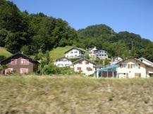 Luzern'in dışında kır evleri