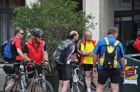 Bisiklet sporcuları Freiburg'ta