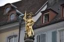 Freiburg' ta bir heykel