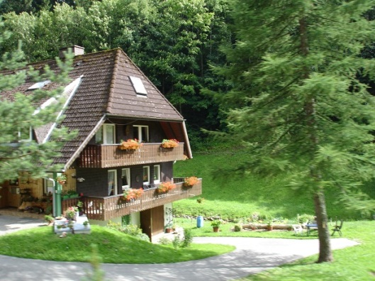 Yöredeki dağ evleri