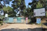 Zeua Altar yolu girişi