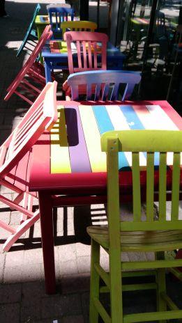 renkli Erdek sokakaları
