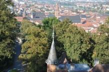 Kaleden şehir manzarası