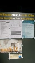 St. Kilian kilisesi bilgi panosu