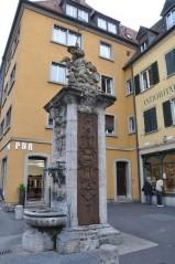 Eski şehirde bir çeşme