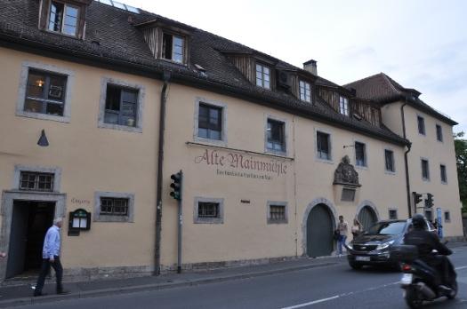 Alte Mainmühle lokantası
