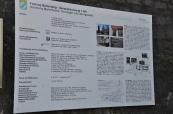 Festung Marienberg bilgi panosu