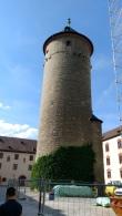 Kale içindeki gözlem kulesi