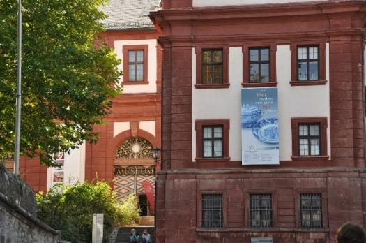 Kale girişindeki müze