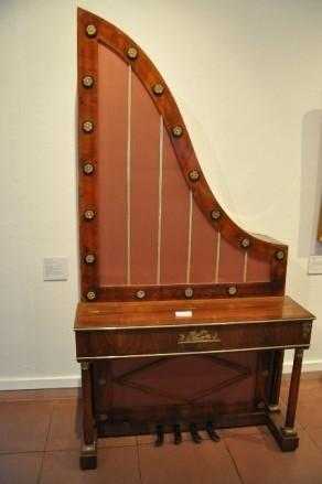 Sarayın müzik enstrümanlarından biri
