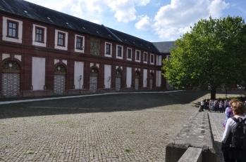 Kale müzesinin dışarıdan görünüşü