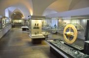 Müze değerli ekipmanları salonu