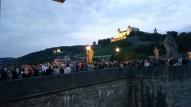 Eski köprüde akşam oluyor