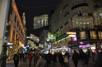 Kaertner caddesinde akşam