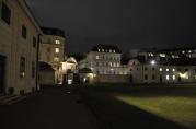 Belvedere sarayı gecesi