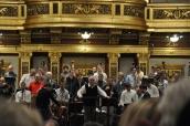 Musikverein salonunda