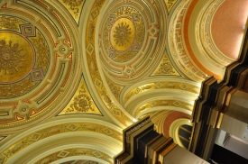 Musikverein tavan süslemeleri