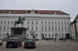 Hofburg sarayı uzantıları