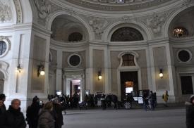Hofburg saray girişi