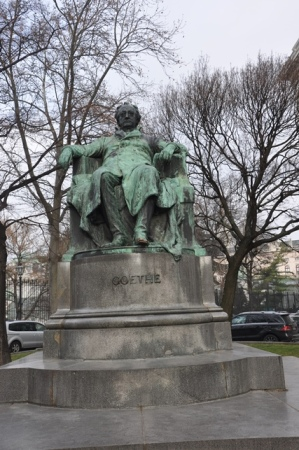 Goethe heykeli