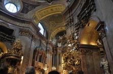 St. Peter's kilisesi içi