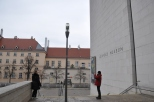 Leopold müzesi girişi