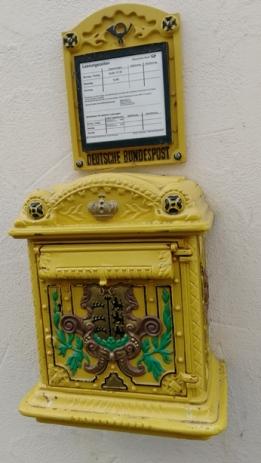 Posta kutusunun güzelliği...