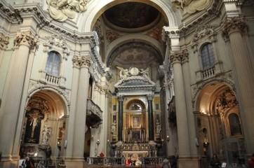 Santa Maria della Vita Oratoryo iç hacmi