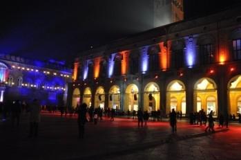 Maggiore meydanı gecesi